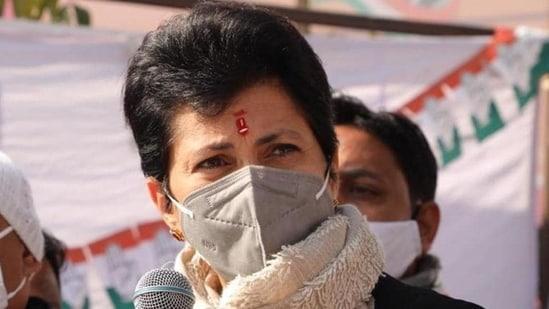 Haryana Congress chief Kumari Selja (HT photo)