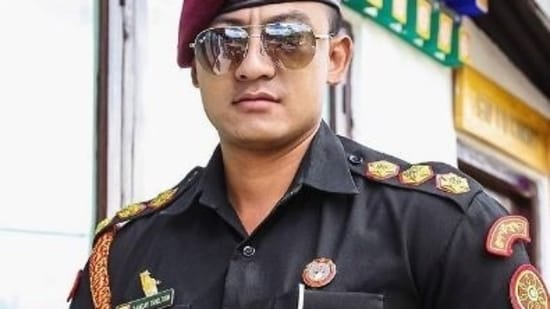 Sangay Tsheltrim used to be an army officer in his native Bhutan.