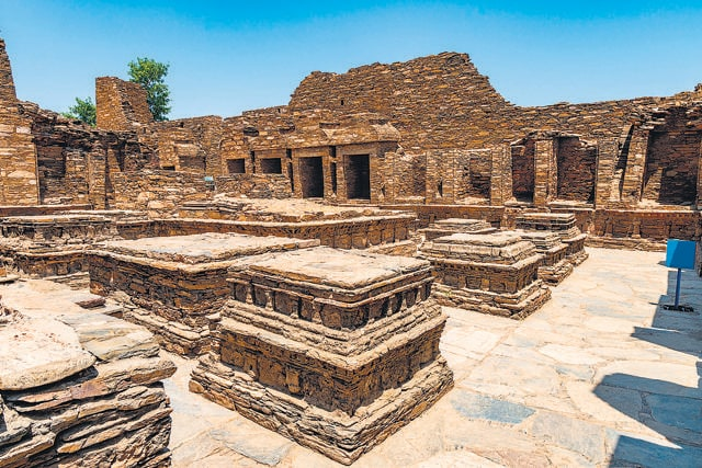 Pakistan's Takht-i-Bahi site shows the early stops Buddhism made as it spread outside India. (Shutterstock)