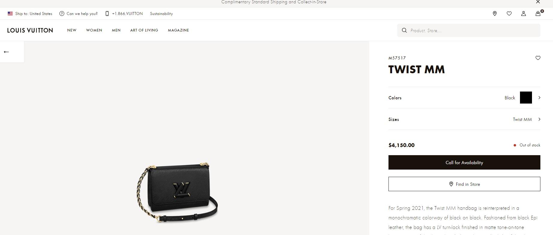 Natasa's bag is worth ₹3,04,108(us.louisvuitton.com)