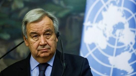 U.N. Secretary-General Antonio Guterres.(REUTERS)