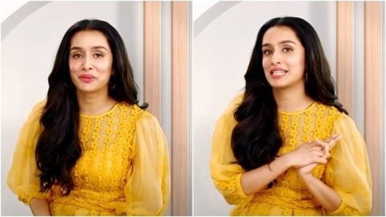 Shraddha Kapoor looks chic in yellow dress(YouTube)