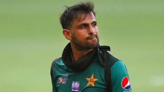 File photo of former Pakistan skipper Shoaib Malik.(Twitter)