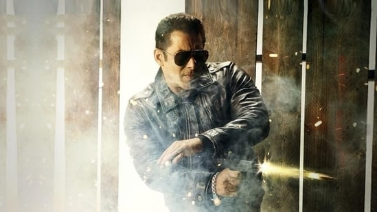 Salman Khan in a still from Radhe: Your Most Wanted Bhai.