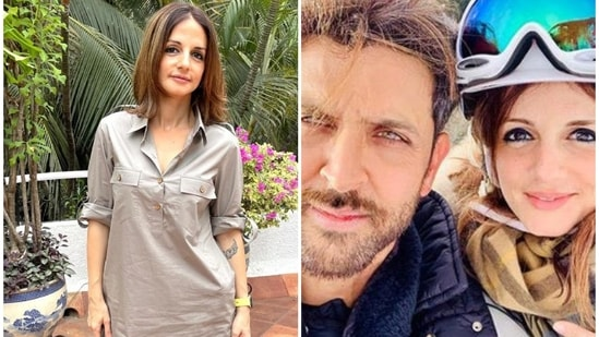 Hrithik Roshan complimented Sussanne Khan on her new look.