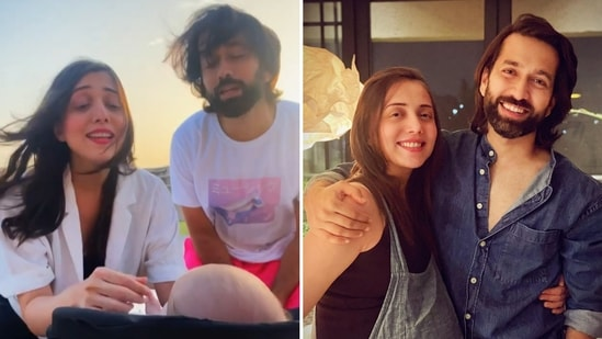 Jankee Parekh shared a video of her and Nakuul Mehta singing to little Sufi.