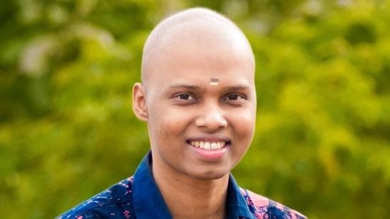 Nandu Mahadeva used to inspire cancer patients by singing songs and acting in videos.(Nandu Mahadeva/Facebook)