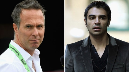 Michael Vaughan was pretty displeased with Salman Butt's comments on him. (Getty Images)