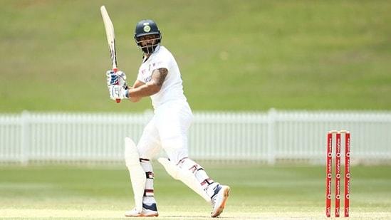 Hanuma Vihari bats for India.(Getty Images)