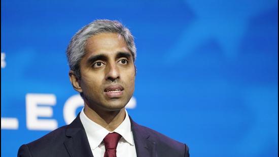 Dr Vivek Murthy, US surgeon general. (AP)