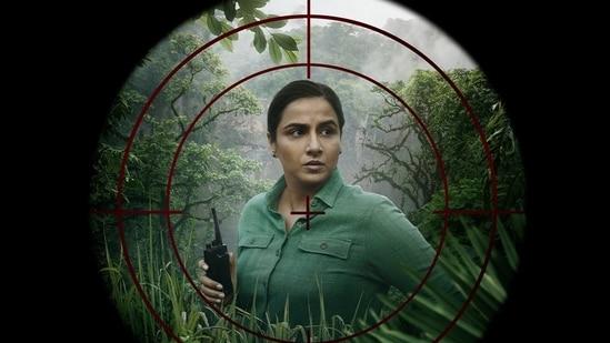 Vidya Balan plays a forest officer in Sherni.