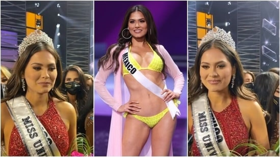 Miss Universe 2020: Miss Mexico Andrea Meza gets the crown, who is she?    Hindustan Times