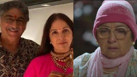 Neena Gupta revealed how her husband Vivek Mehra reacted to her look in Sardar Ka Grandson.