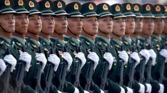 2021 has been an exciting one for PLA soldiers in the Xinjiang Military District. (AP Photo/Mark Schiefelbein)(AP)
