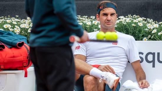 Switzerland's tennis player Roger Federer.(AP)