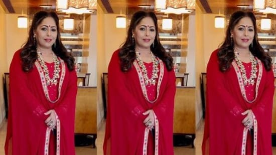 Choreographer Geeta Kapur is one of the judges on the dance reality show Super Dancer.