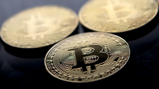 Bitcoin plunged below 39,000 USD for the first time in more than three months on May 19, 2021 after China said cryptocurrencies would not be allowed in transactions and warned investors against speculative trading in them, despite the country powering most of the world's mining.(AFP)
