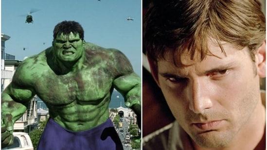 Eric Bana played Bruce Banner aka Hulk in Ang Lee's film of the same name.