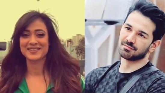 Abhinav Shukla shot a new video with Shweta Tiwari on the sets of Khatron Ke Khiladi.