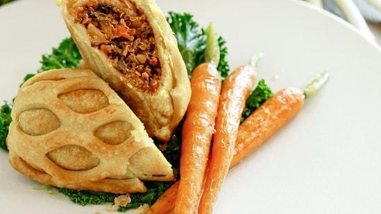 Vegan Wellington(Bread Street Kitchen & Bar, Atlantis Dubai)