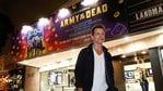 Director Zack Snyder poses after a special screening of Army of the Dead marking the reopening of the Landmark Westwood theatre in Los Angeles, California, U.S., May 14, 2021.(REUTERS)