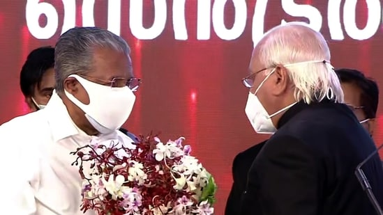 Pinarayi Vijayan Sworn in as Chief Minister of Kerala for the Second Time