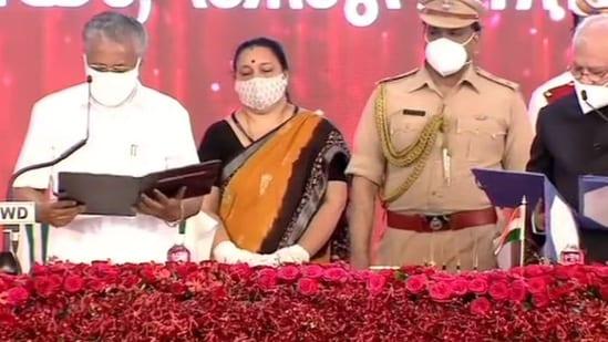 Pinarayi Vijayan takes oath as Kerala chief minister for the 2nd time