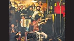 Album art for The Basement Tapes, released in 1975. The group of musicians that backed Dylan on this album later formed The Band.