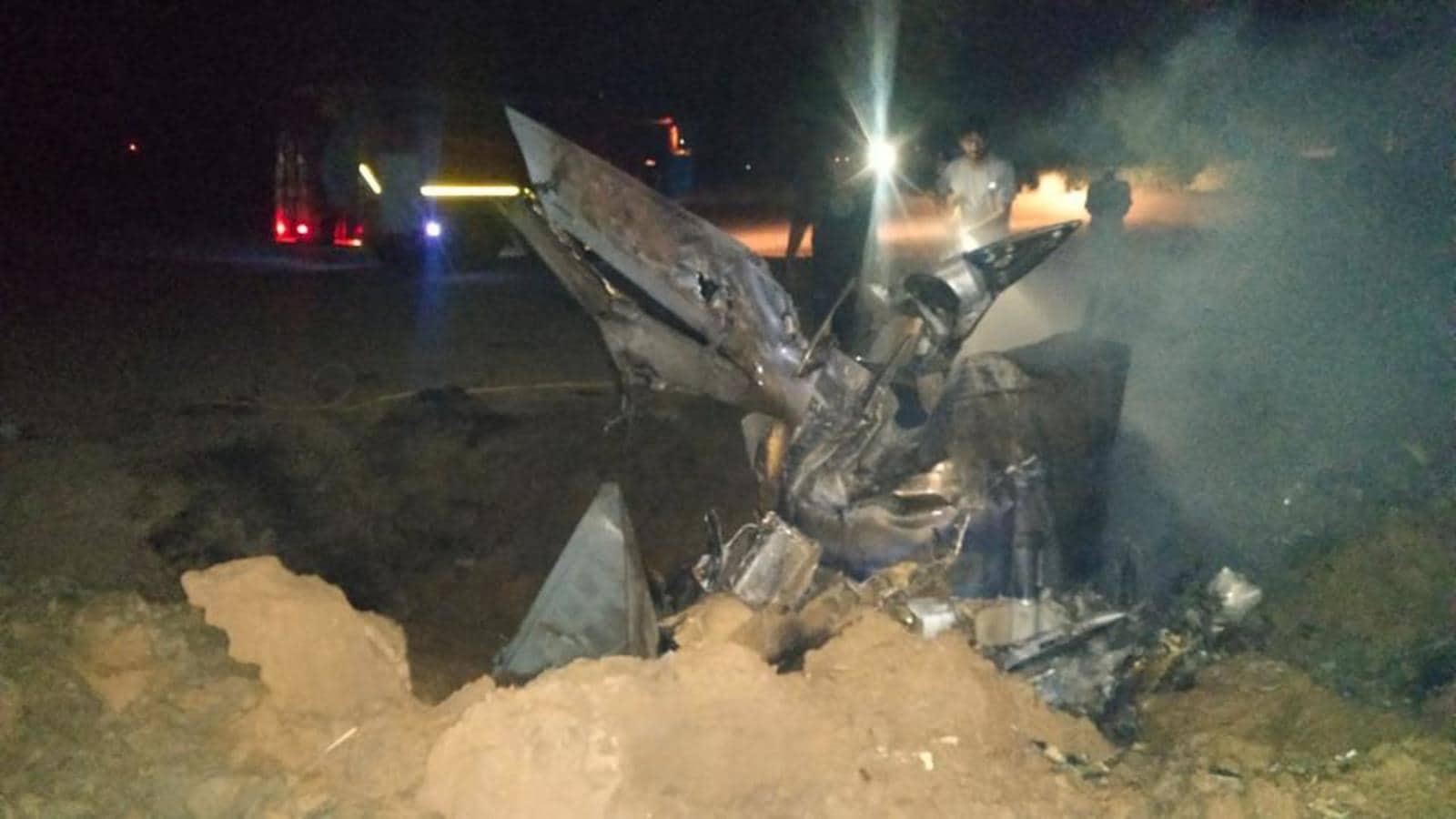 IAF pilot dies as MiG-21 crashes in Punjab's Moga district   Hindustan Times