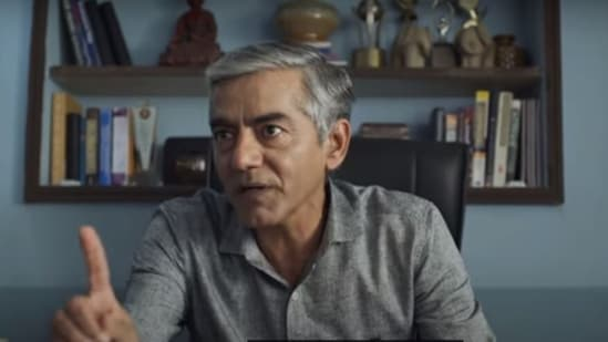 Asif Basra in a still from The Family Man 2.
