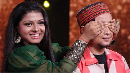 Arunita Kanjilal and Pawandeep Rajan are contestants on Indian Idol 12.