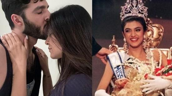Rohman Shawl marks 27 years since Sushmita Sen won the Miss Universe beauty pageant.