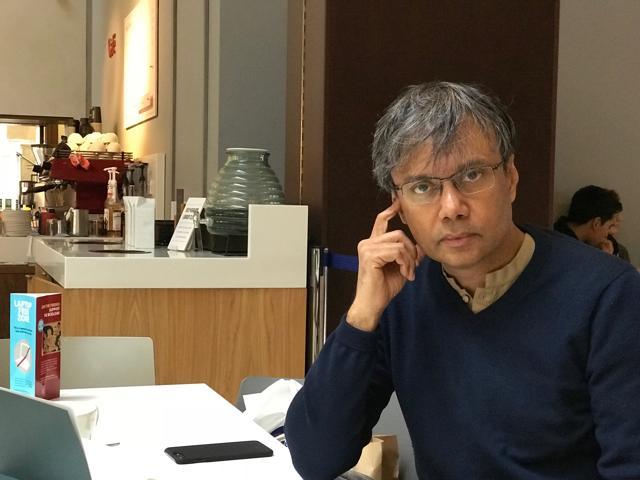 Author Amit Chaudhuri (Richard Lofthouse/University of Oxford)