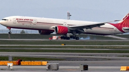 Air India said the data of its customers involved those that were registered over a span of nearly 10 years.(Reuters file photo)