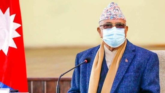 Prime Minister K P Sharma Oli and the Opposition parties staked separate claims for the formation of a new government by submitting letters of support from lawmakers to the President on Friday.(ANI Photo)