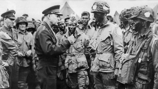 In the event, US President Dwight D. Eisenhower decided to rely initially on conventional weapons.(AFP / File)