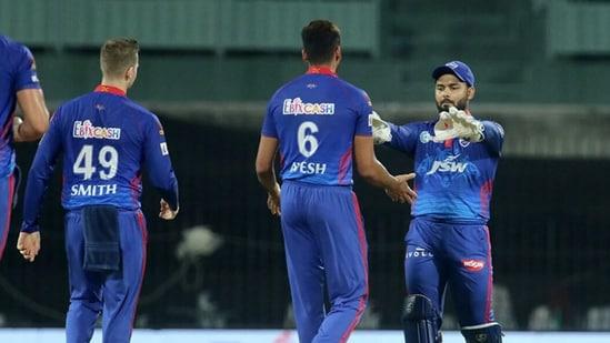 File Photo of Delhi Capitals captain Rishabh Pant.(IPL)