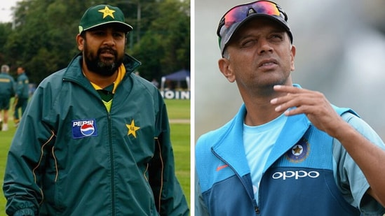 Inzamam-Ul-Haq talks about Rahul Dravid being India coach.(Getty Images)