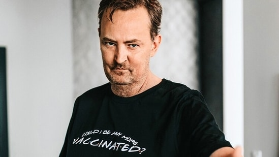"""Another T-shirt asks a very relevant question given the coronavirus pandemic, saying, """"Could I be any more vaccinated?""""(Represent.com)"""