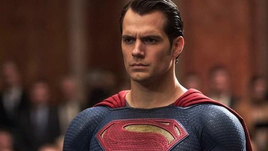 Henry Cavill as Superman in films.