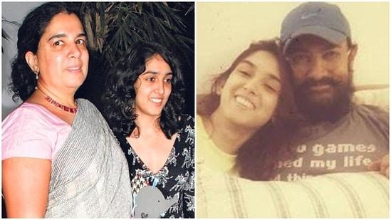 Ira Khan is the daughter of Reena Dutta and Aamir Khan.