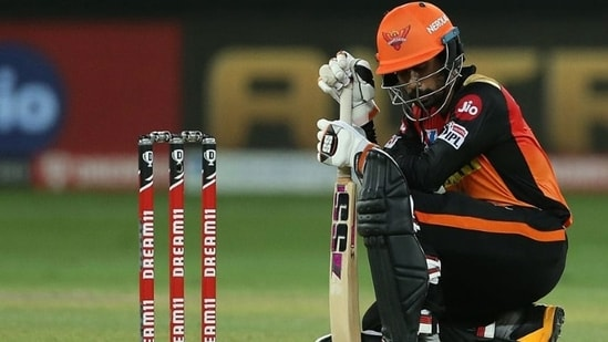 Wriddhiman Saha had tested positive for Covid-19 earlier this month,(IPL/Twitter)