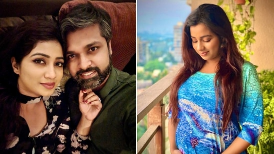 Shreya Ghoshal and her husband Shiladitya M became proud parents to a baby boy on Saturday.