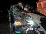 The dead were identified as Kistura Ram (65), a resident of Barmer and Mitesh Kumar (30), a resident of Deesa in Gujarat. HT Photo