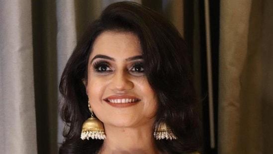 Amruta Subhash's new Marathi film Dithee released online in May 2021.(HT_PRINT)