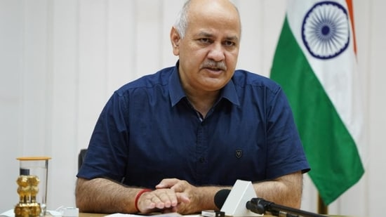 CBSE 12th board exams 2021: Sisodia made the suggestion at a high-level meeting called by the Ministry of Education which is currently underway.(ANI File)
