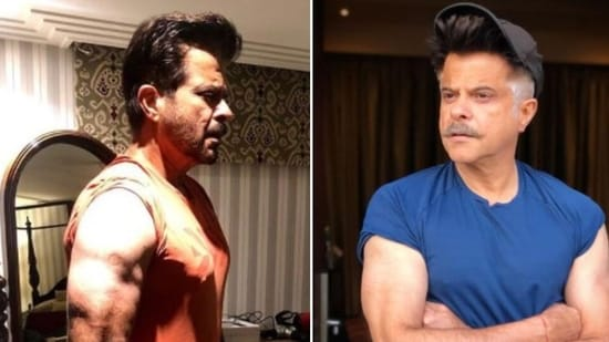 Anil Kapoor has been sharing pictures of the transformation of his body through the lockdown.