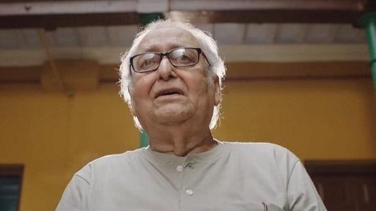 Soumitra Chatterjee in Abhijaan.