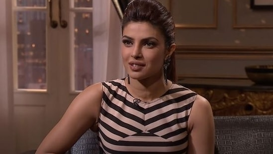Priyanka Chopra on Koffee with Karan.
