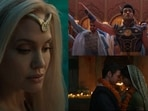 Glimpses from the Eternals teaser.